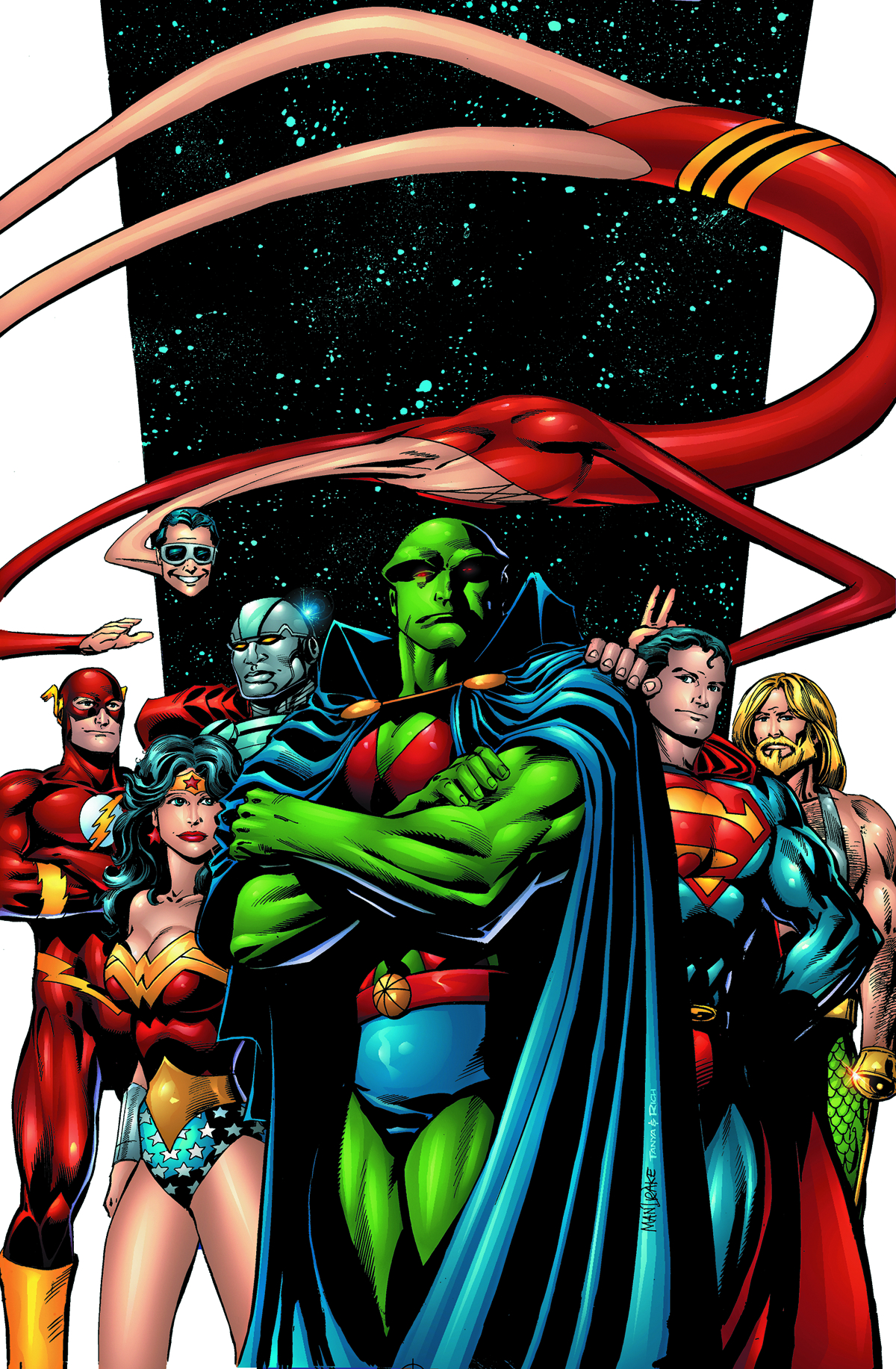 MARTIAN MANHUNTER SON OF MARS TP