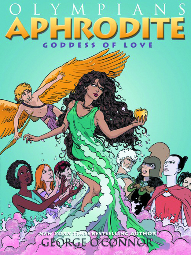 OLYMPIANS GN VOL 06 APHRODITE GODDESS OF LOVE