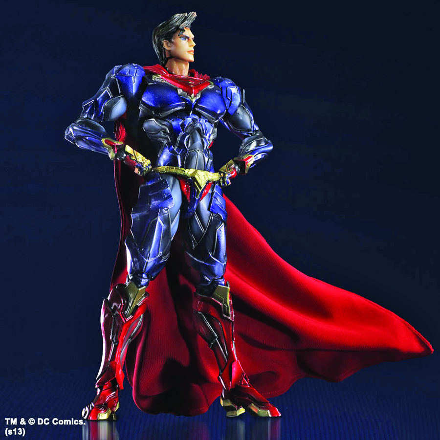DC COMICS VARIANT PLAY ARTS KAI SUPERMAN AF