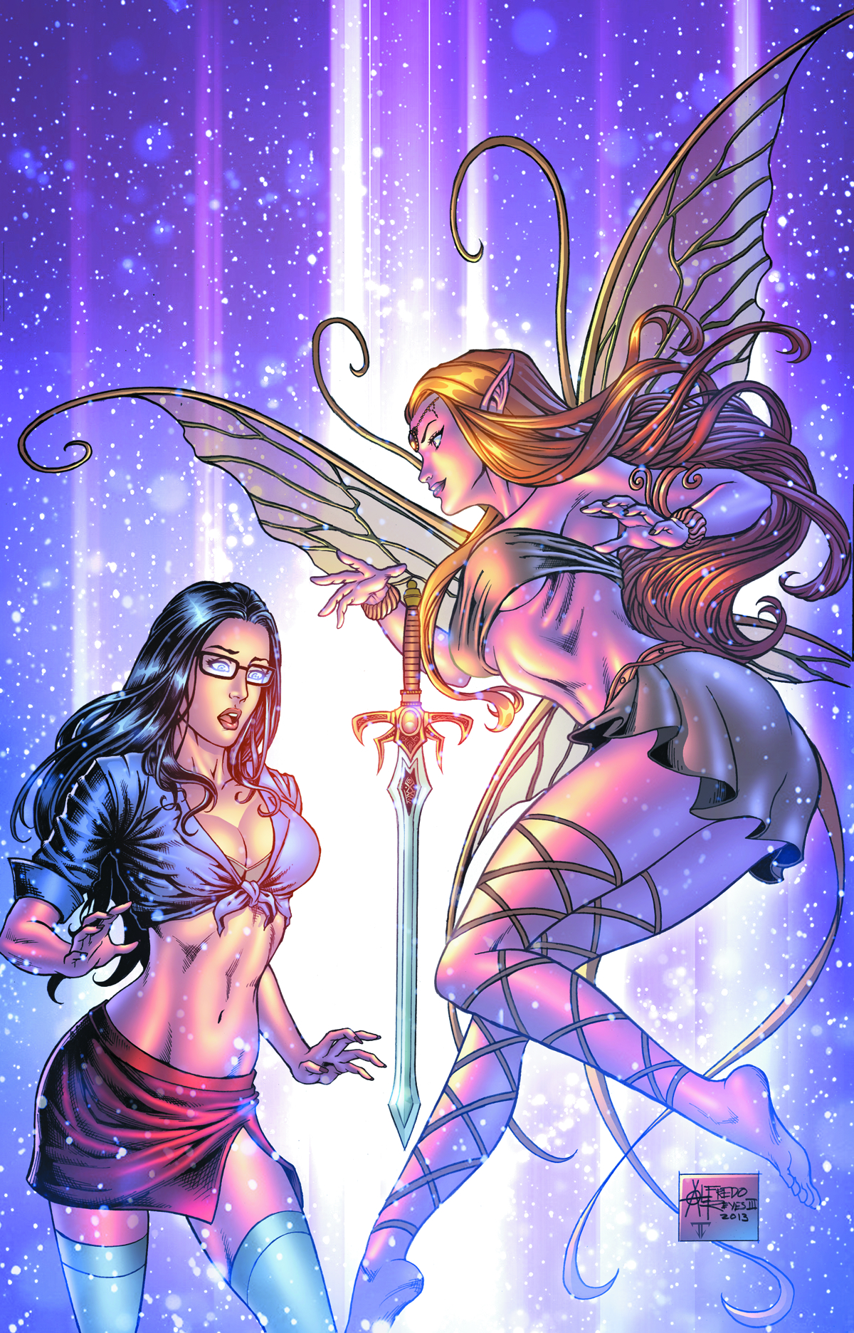 GFT GRIMM FAIRY TALES #93 A CVR REYES