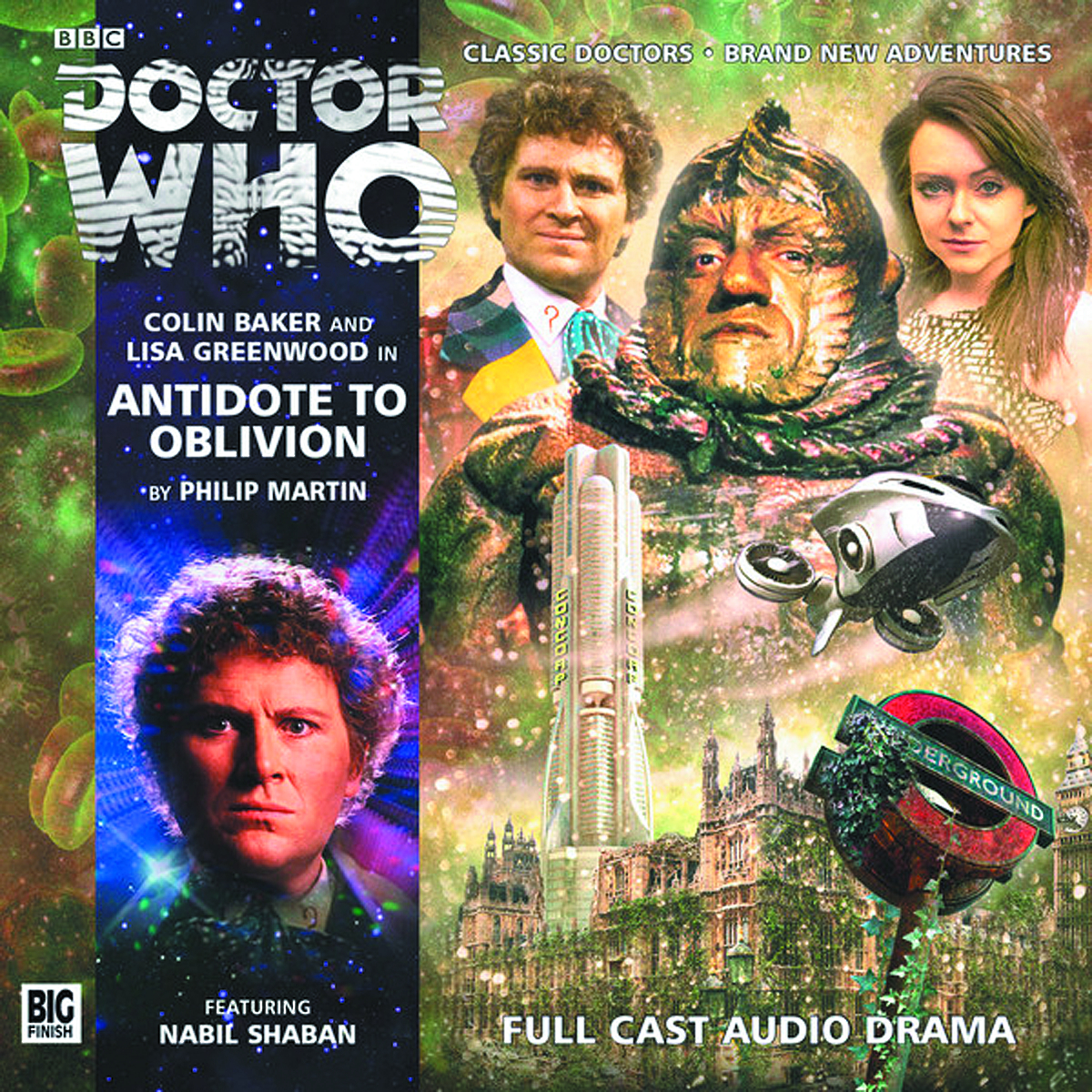 DOCTOR WHO ANTIDOTE TO OBLIVION AUDIO CD
