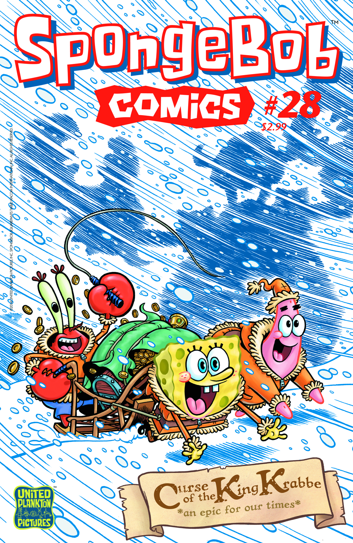 SPONGEBOB COMICS #28