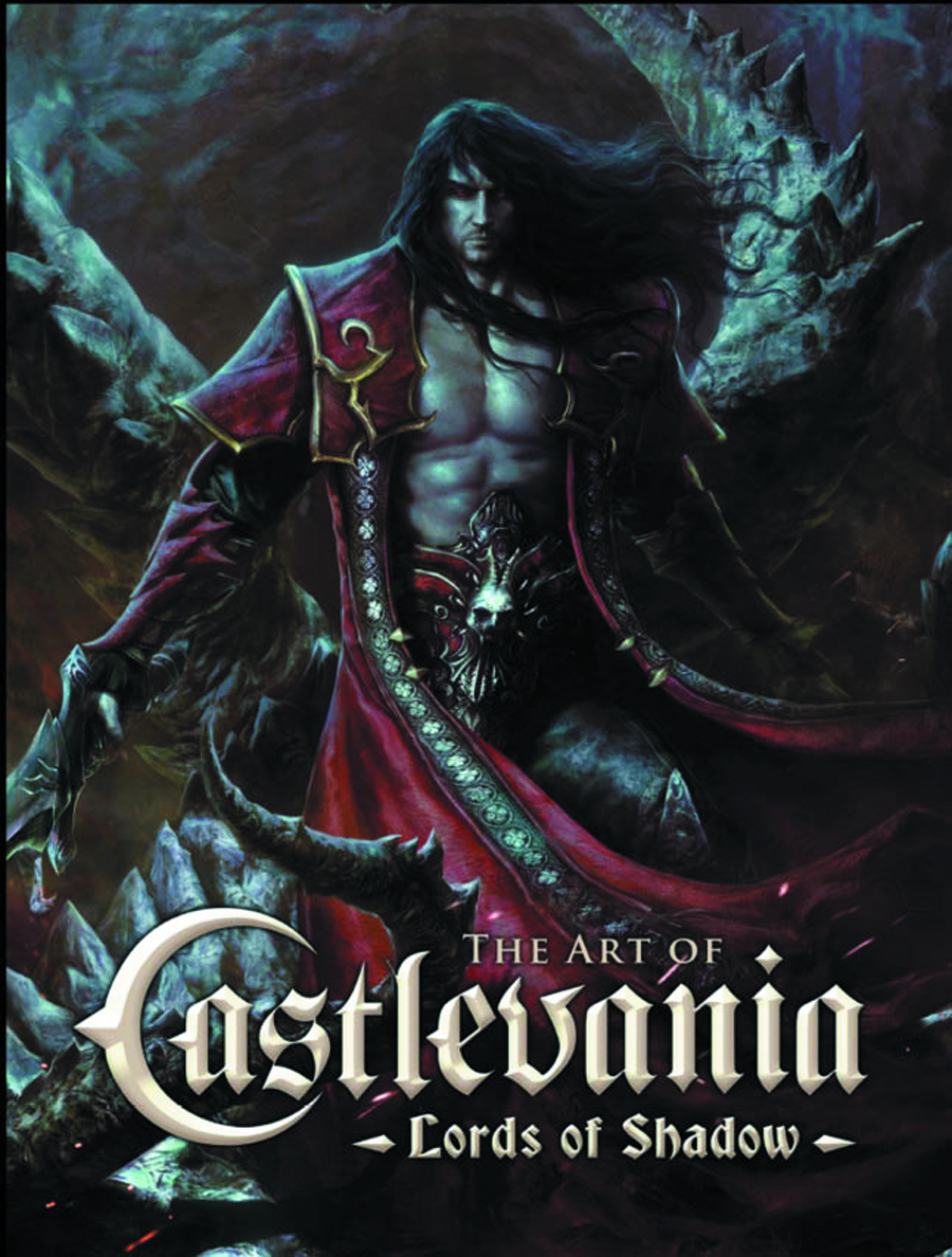 ART OF CASTLEVANIA LORDS OF SHADOW HC