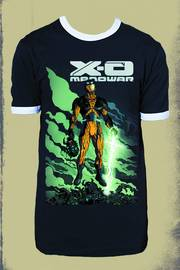 X-O MANOWAR BY RIVERA PX NAVY RINGER T/S LG