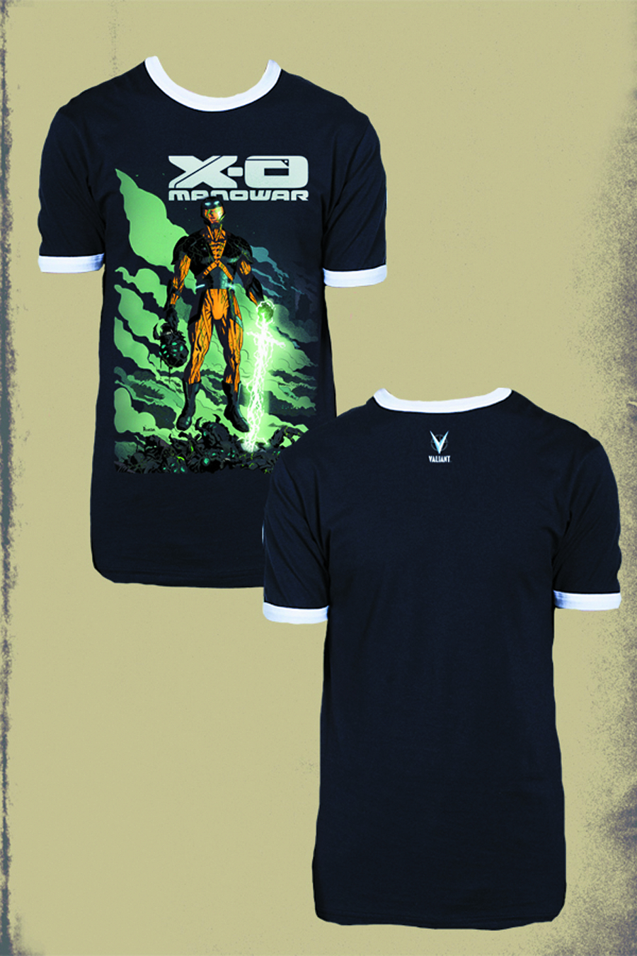 X-O MANOWAR BY RIVERA PX NAVY RINGER T/S XL