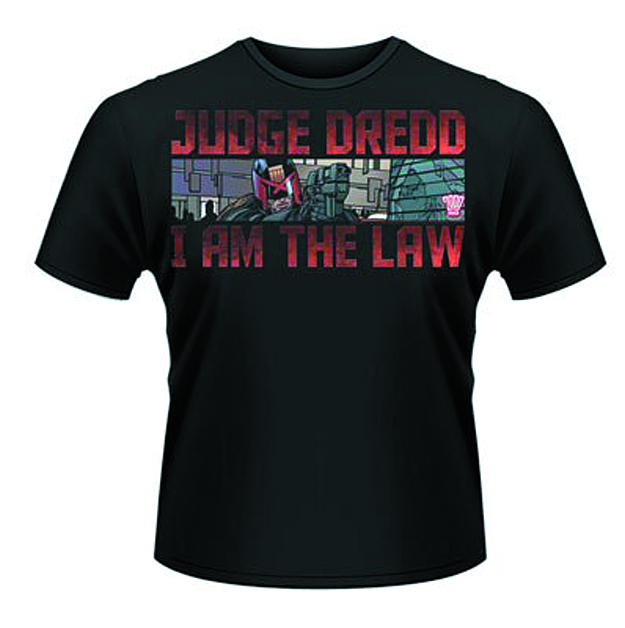 JUDGE DREDD GUN BLK T/S XL