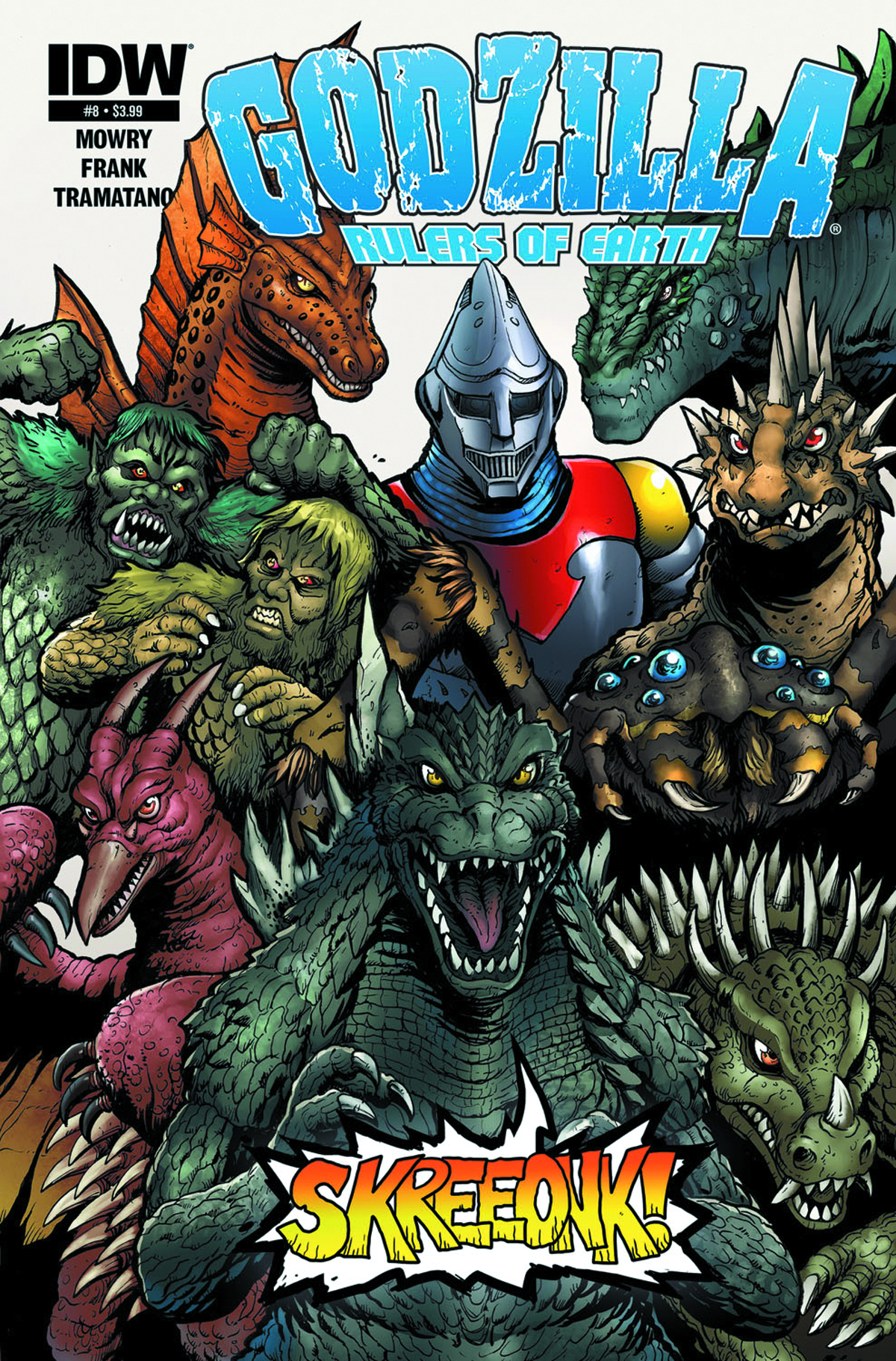 GODZILLA RULERS OF THE EARTH #8