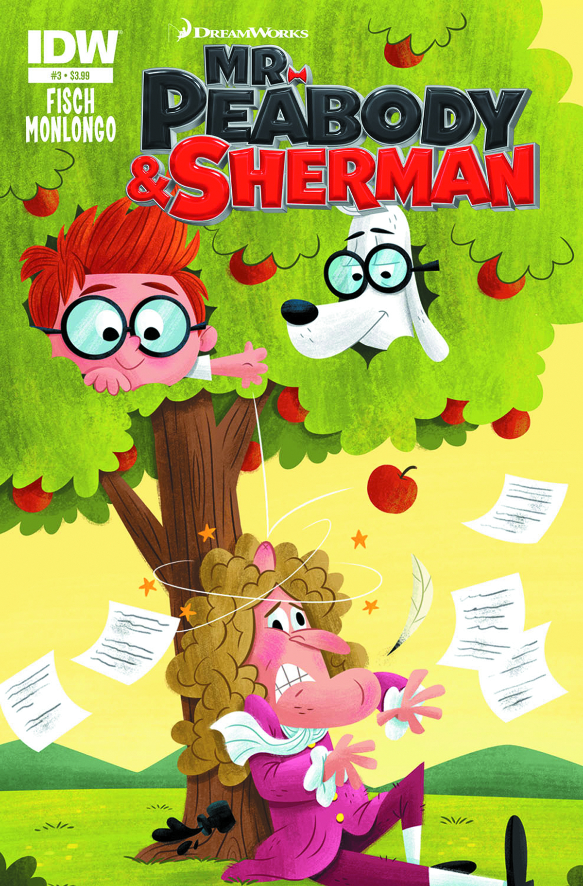 MR PEABODY & SHERMAN #3