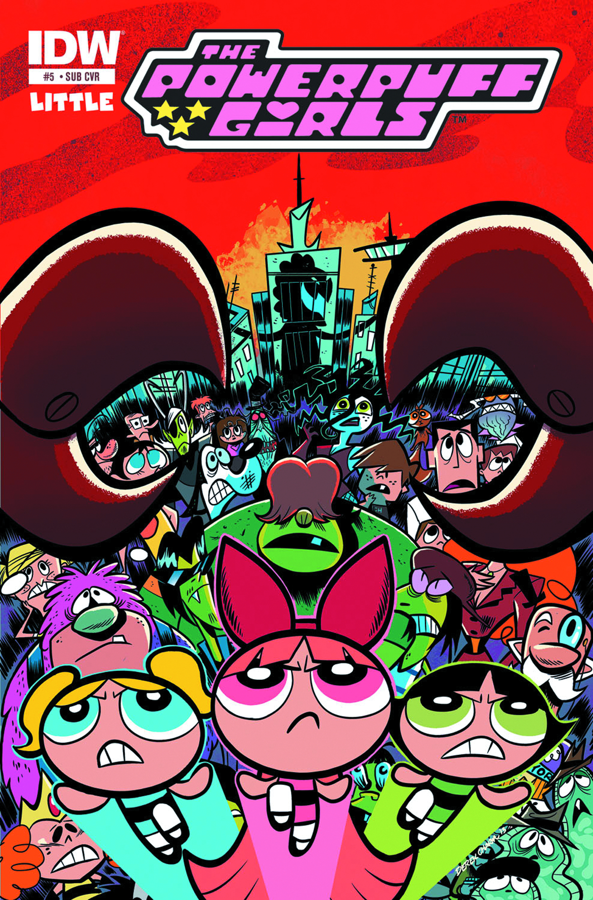 POWERPUFF GIRLS #5 SUBSCRIPTION VAR