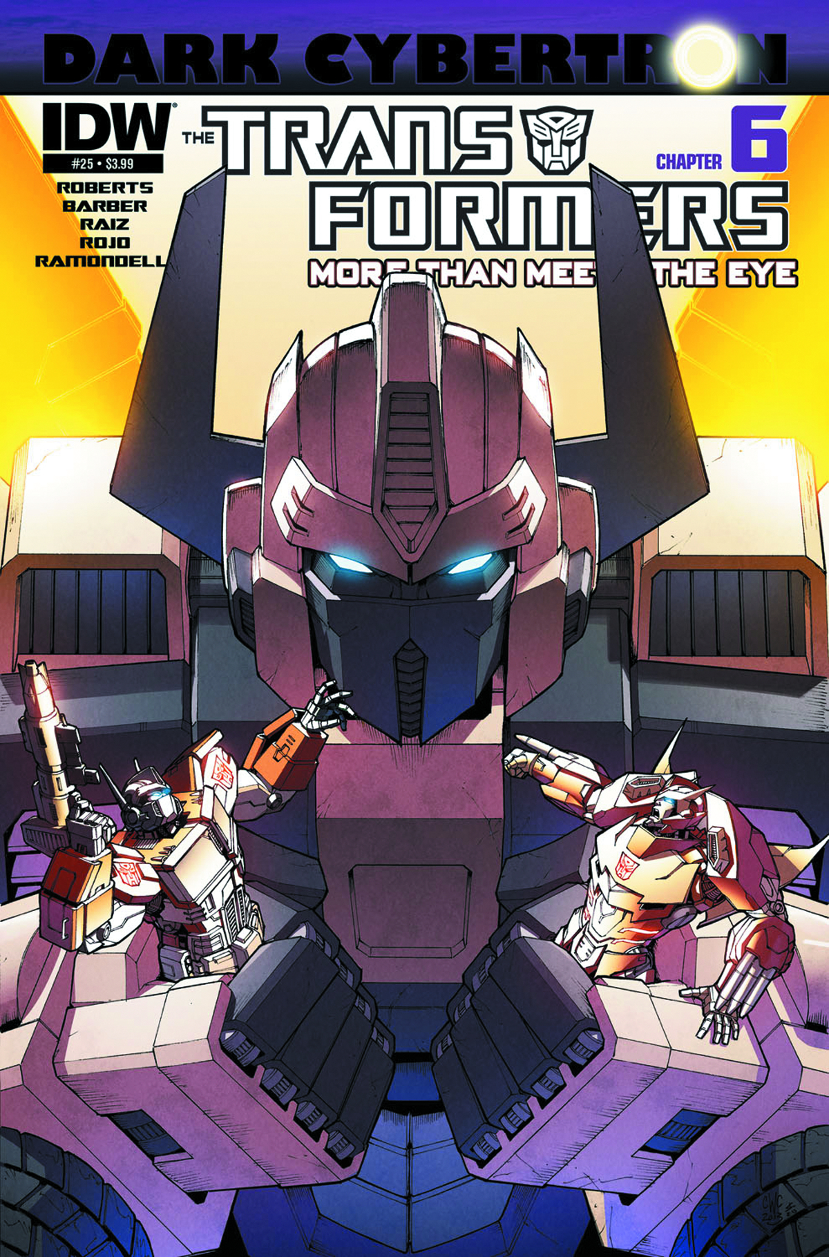 TRANSFORMERS MORE THAN MEETS EYE #25 DARK CYBERTRON PART 6