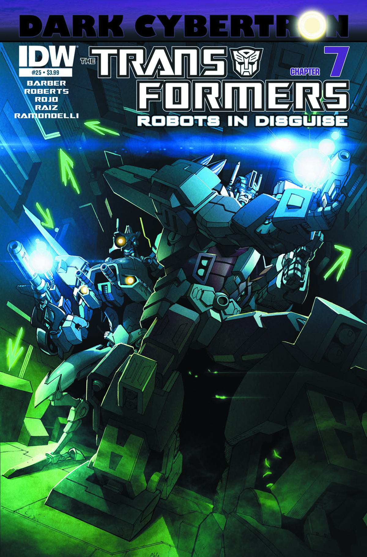 TRANSFORMERS ROBOTS IN DISGUISE #25 DARK CYBERTRON PART 7