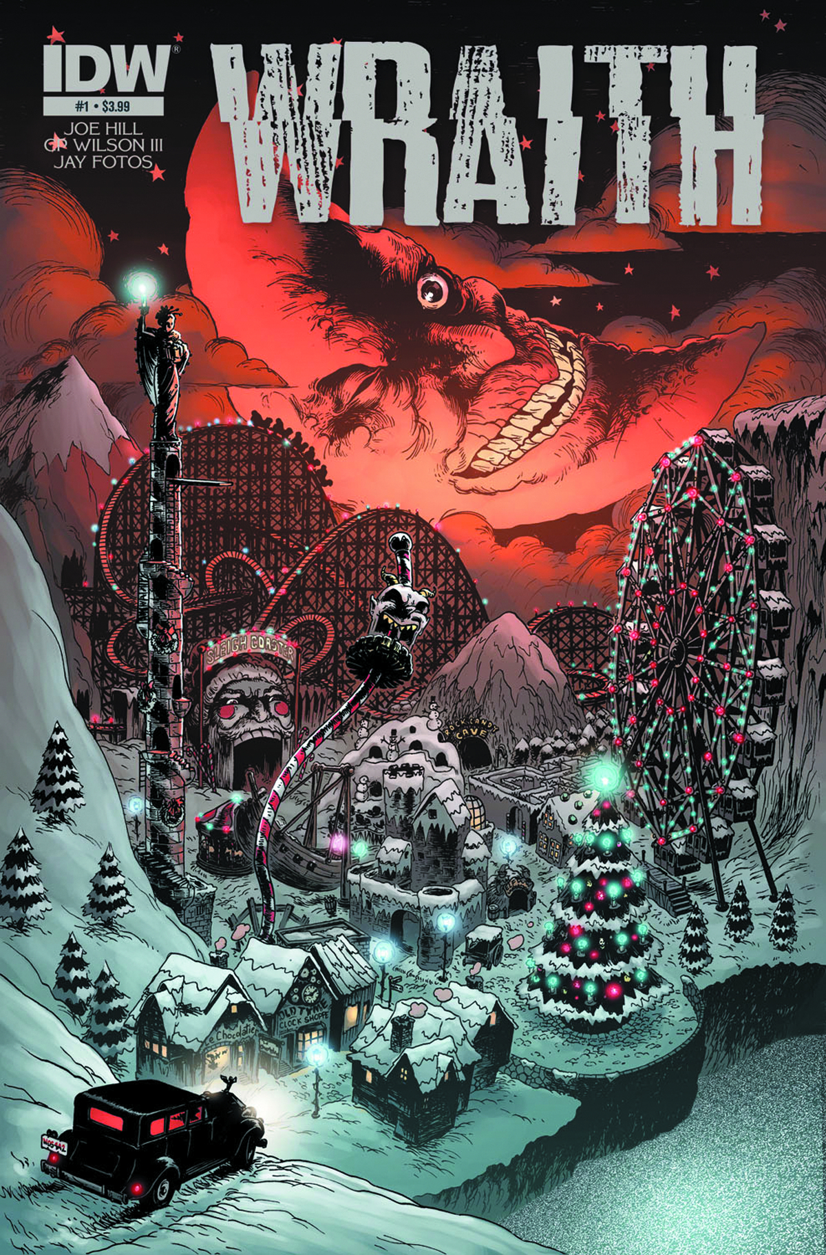 WRAITH WELCOME TO CHRISTMASLAND #3