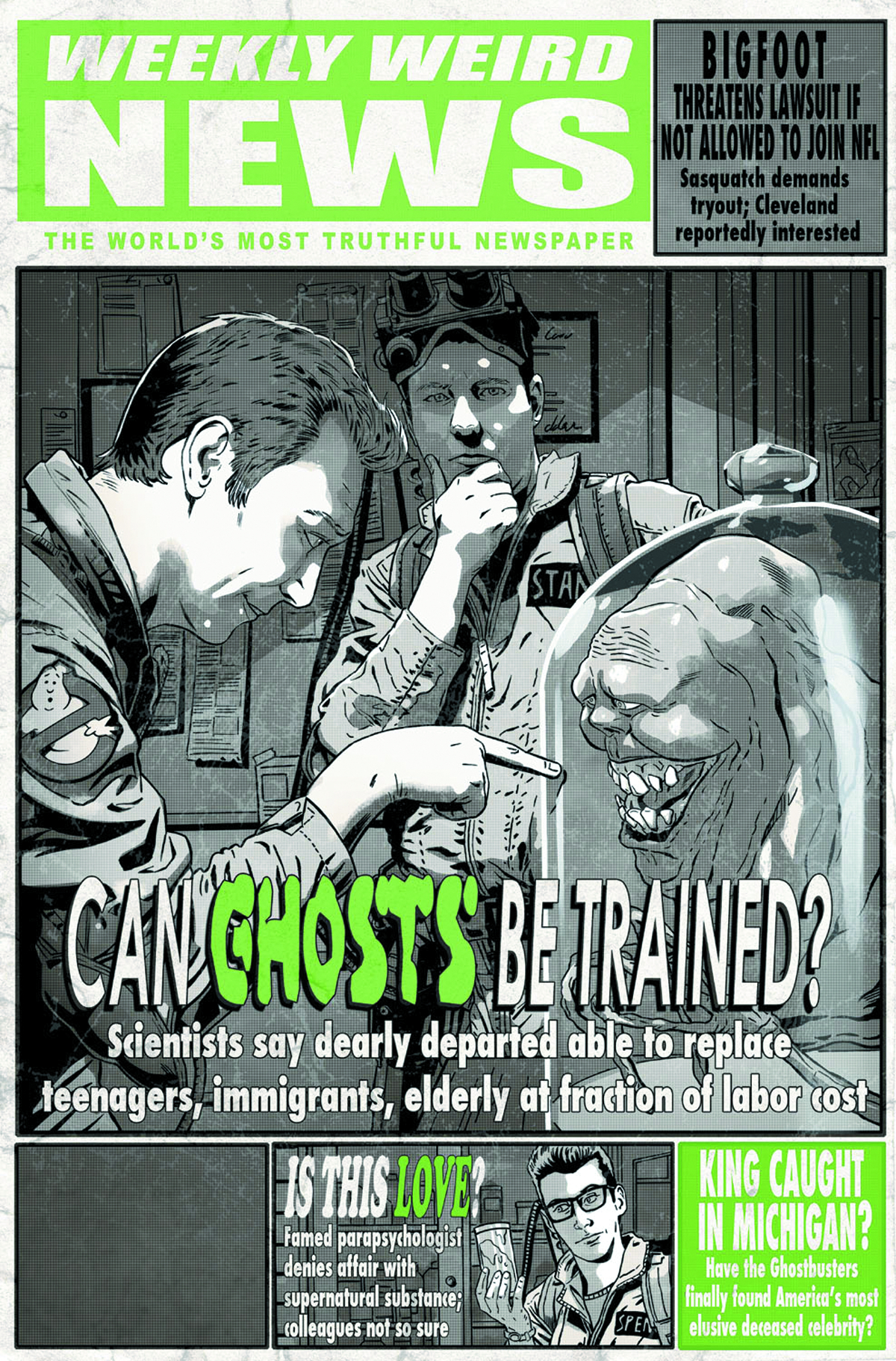 X-FILES CONSPIRACY GHOSTBUSTERS #1 FREE 25 COPY INCV