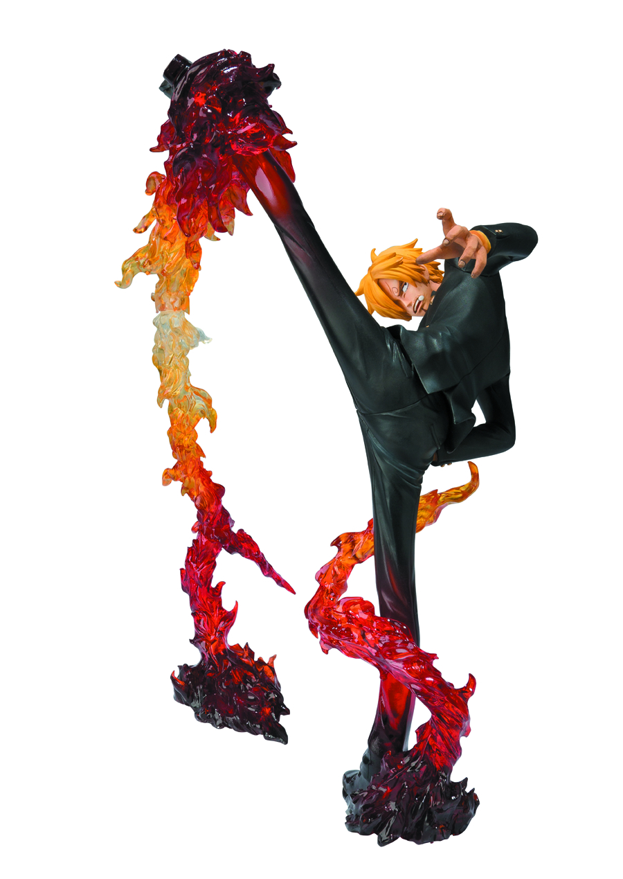 ONE PIECE SANJI FIGUARTS ZERO BATTLE VER