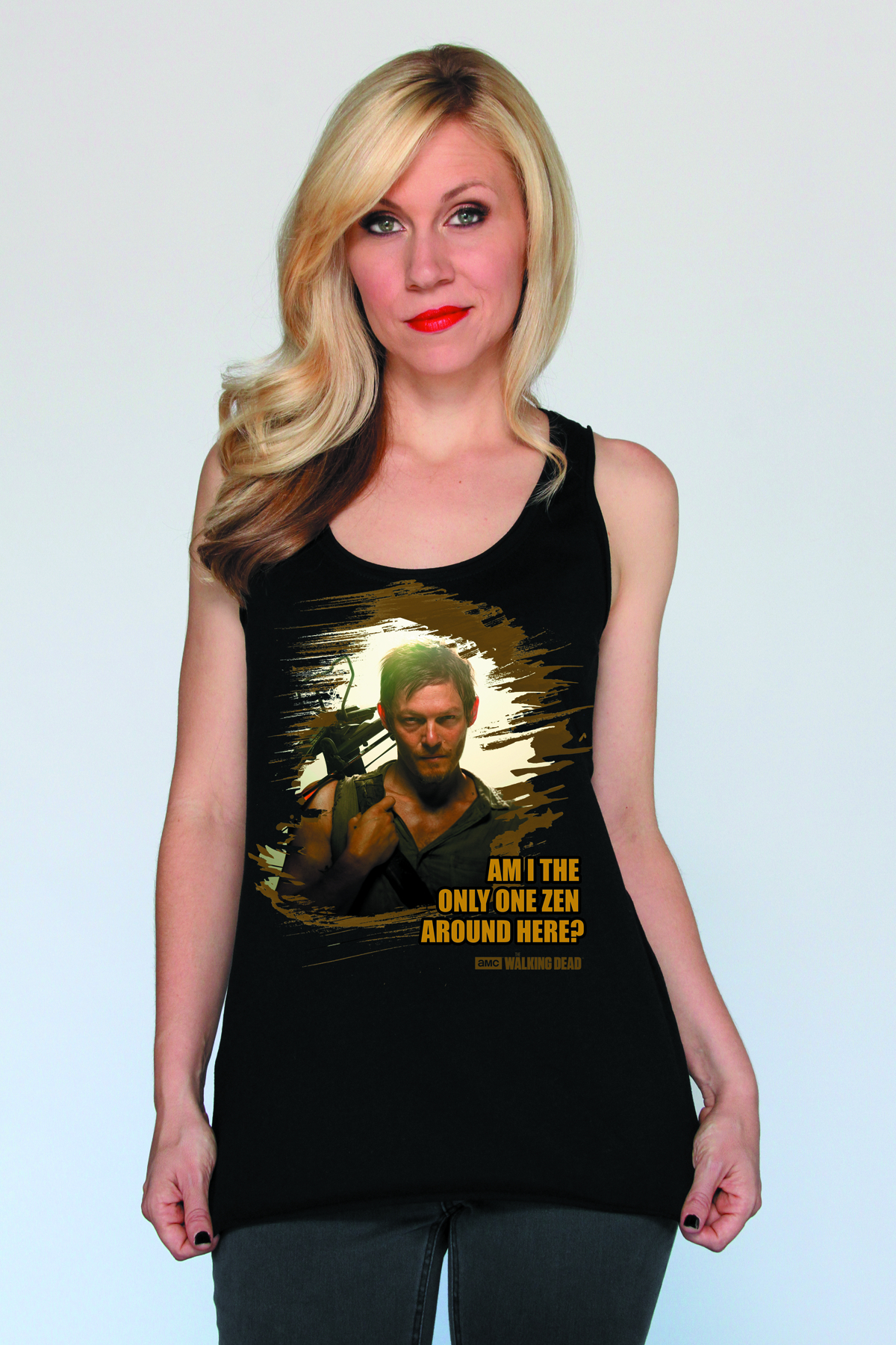 WALKING DEAD DARYL ZEN WOMENS TANK LG