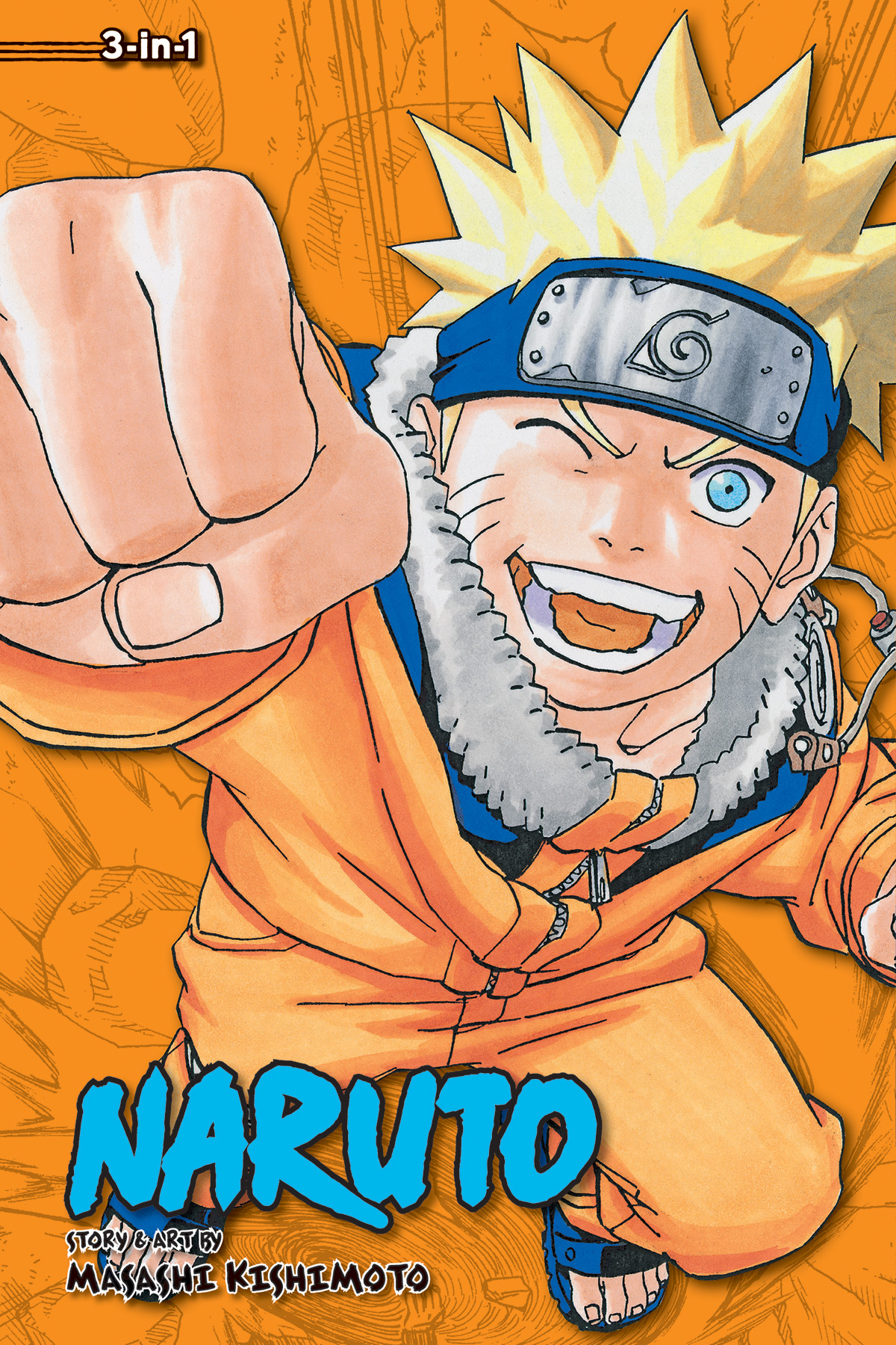 NARUTO 3IN1 TP VOL 07