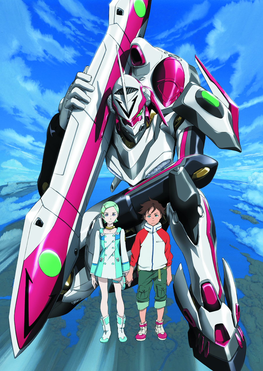 EUREKA SEVEN THE MOVIE BD + DVD