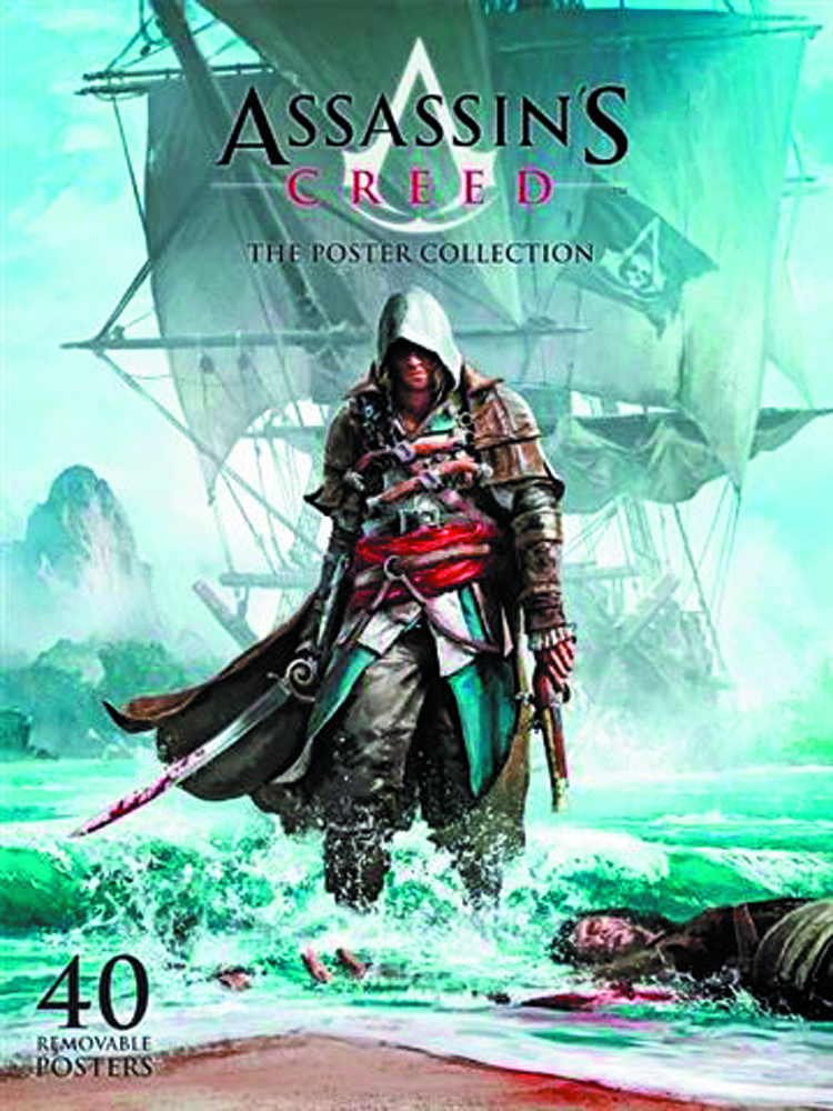 ASSASSINS CREED IV BLACK FLAG POSTER COLLECTION