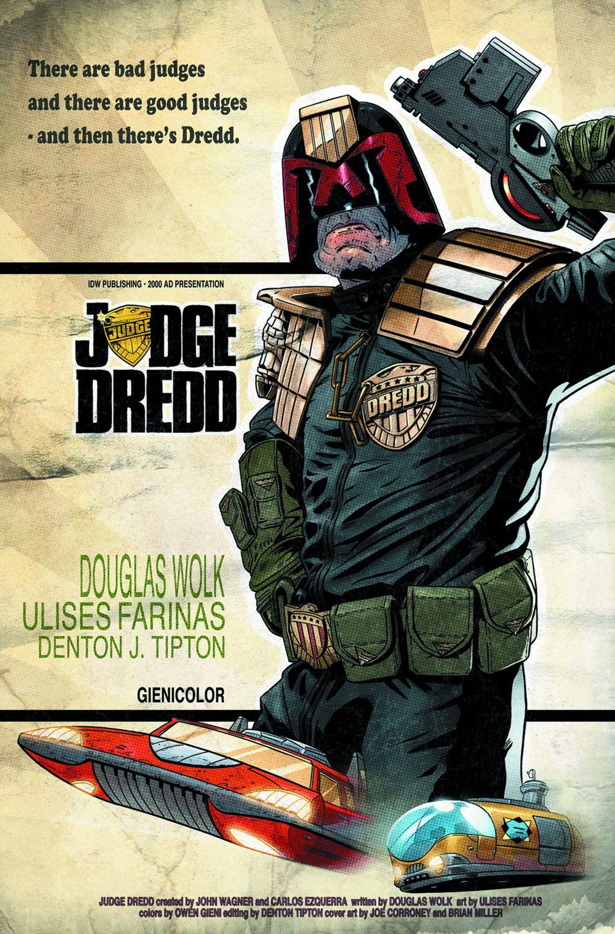 JUDGE DREDD MEGA CITY TWO #1