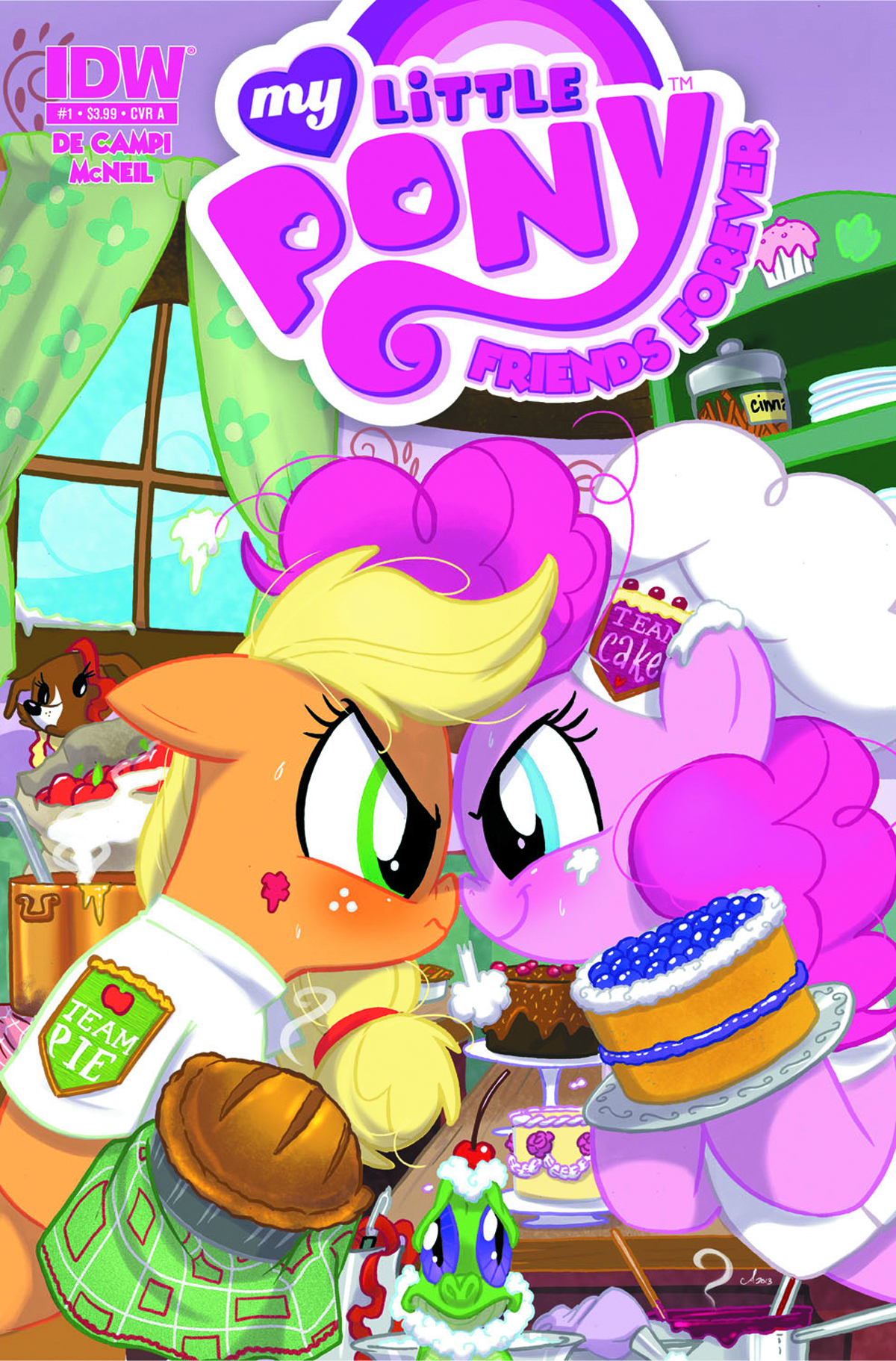 MY LITTLE PONY FRIENDS FOREVER #1 FREE 10 COPY INCV