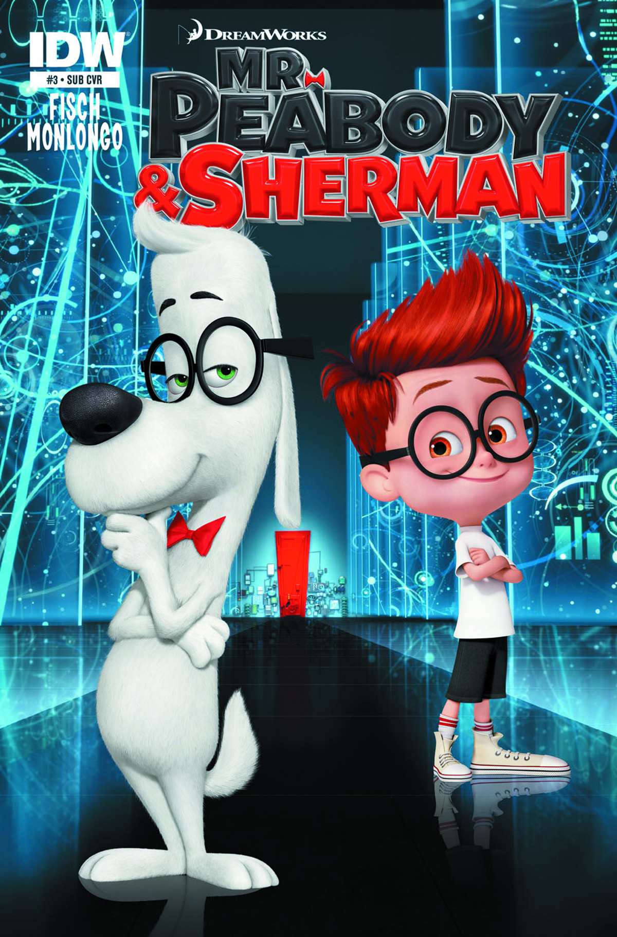 MR PEABODY & SHERMAN #4