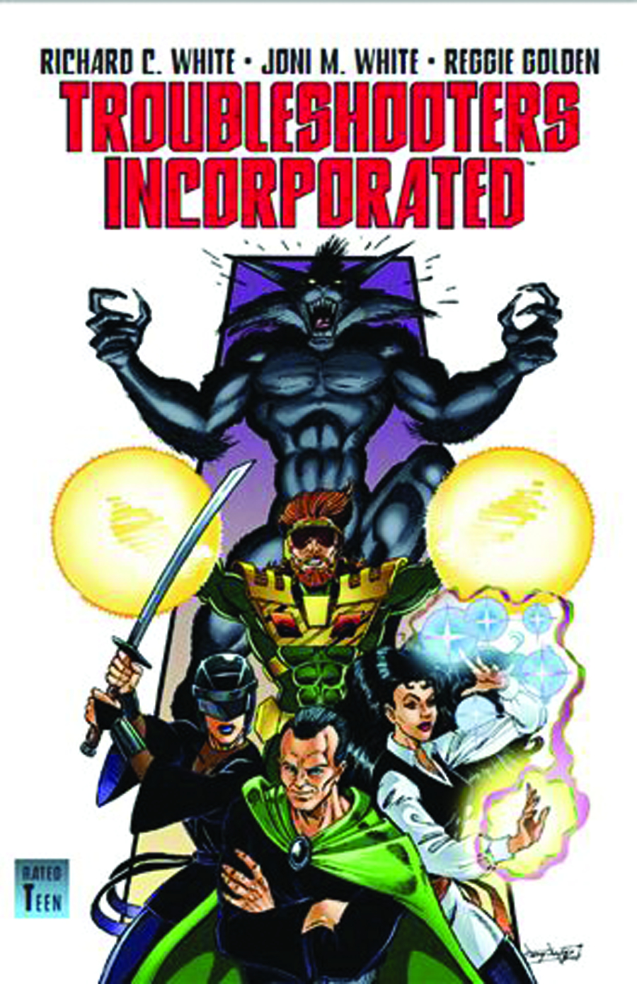 TROUBLESHOOTERS INCORPORATED GN VOL 01 NIGHT STALKINGS