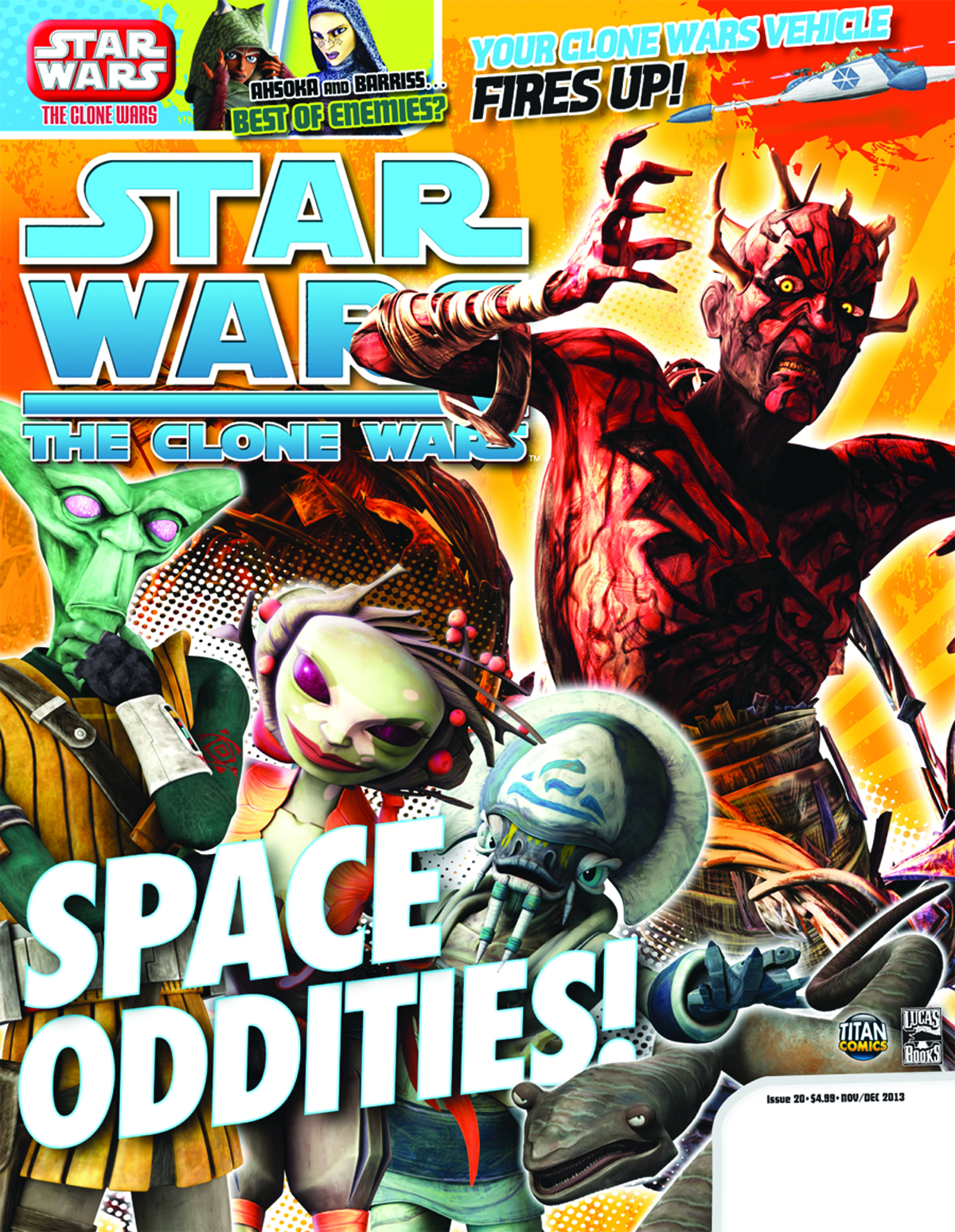STAR WARS CLONE WARS MAGAZINE #21