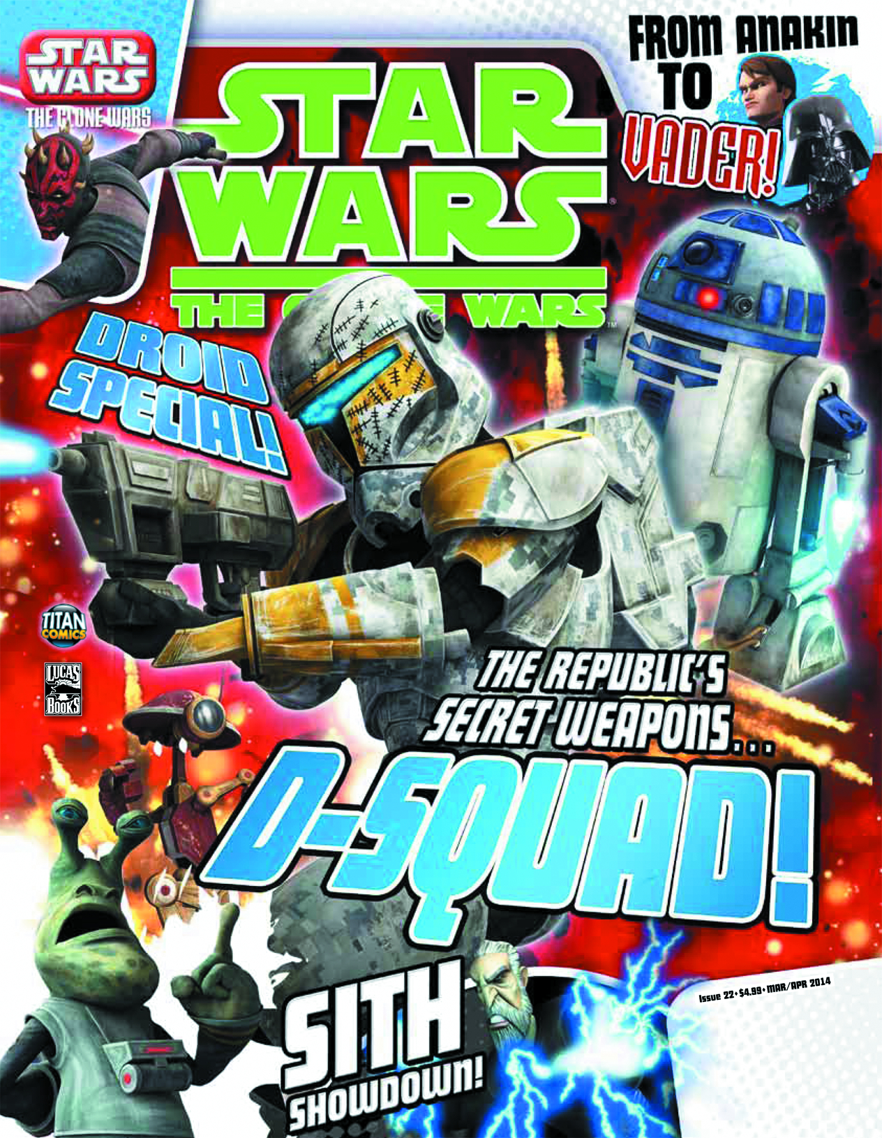 STAR WARS CLONE WARS MAGAZINE #22
