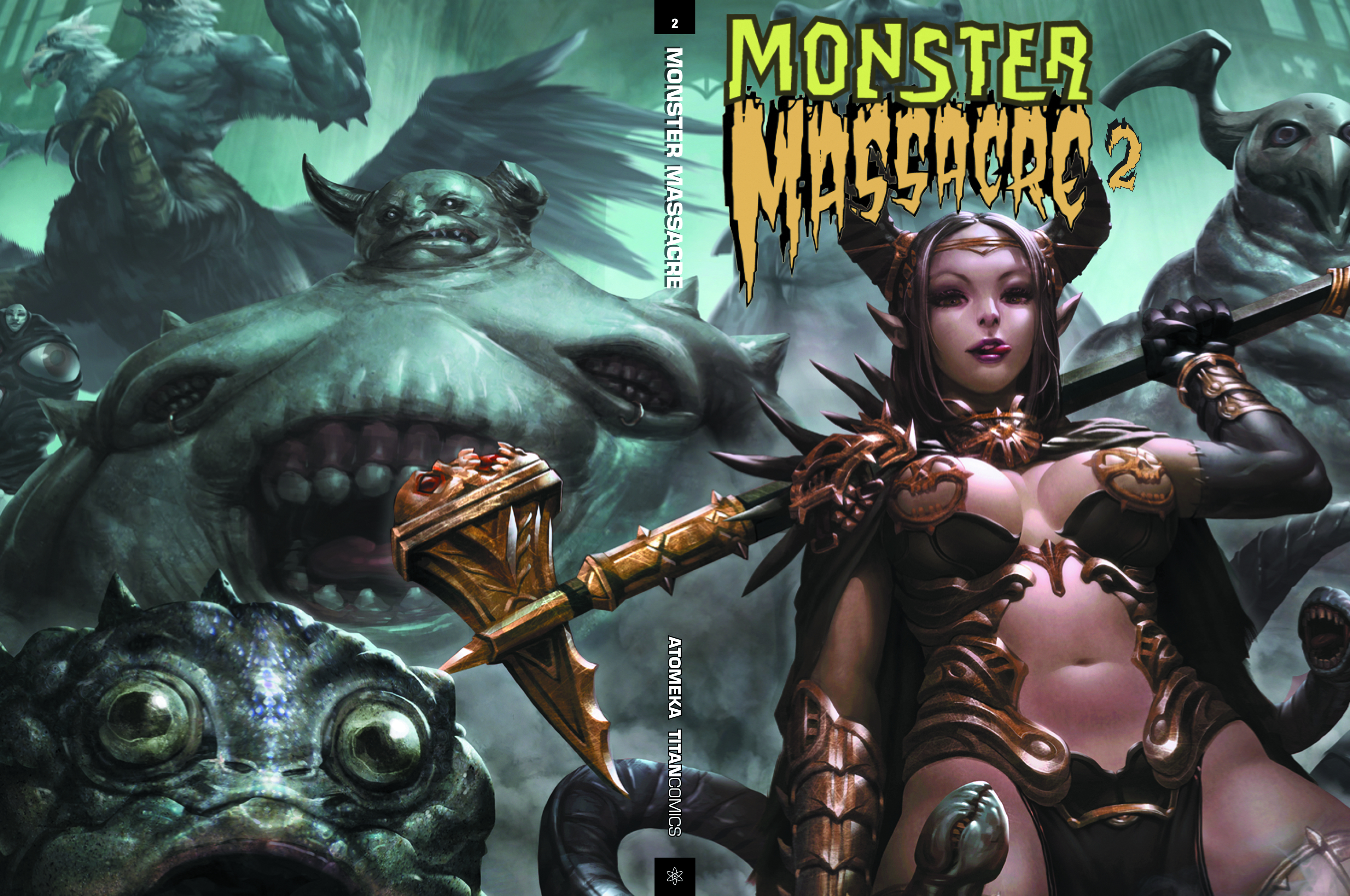 MONSTER MASSACRE HC VOL 02