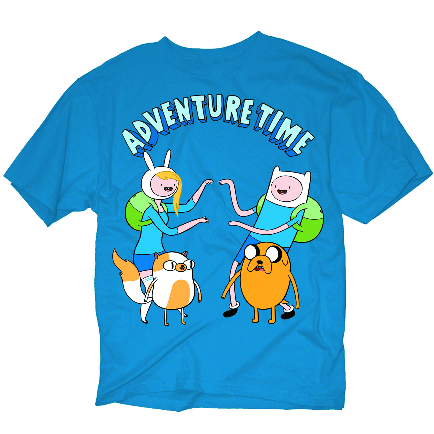 ADVENTURE TWINS PX BLUE T/S MED
