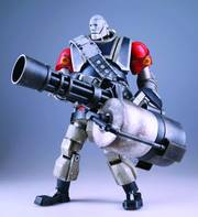 TEAM FORTRESS 2 ROBOT HEAVY FIG RED VER