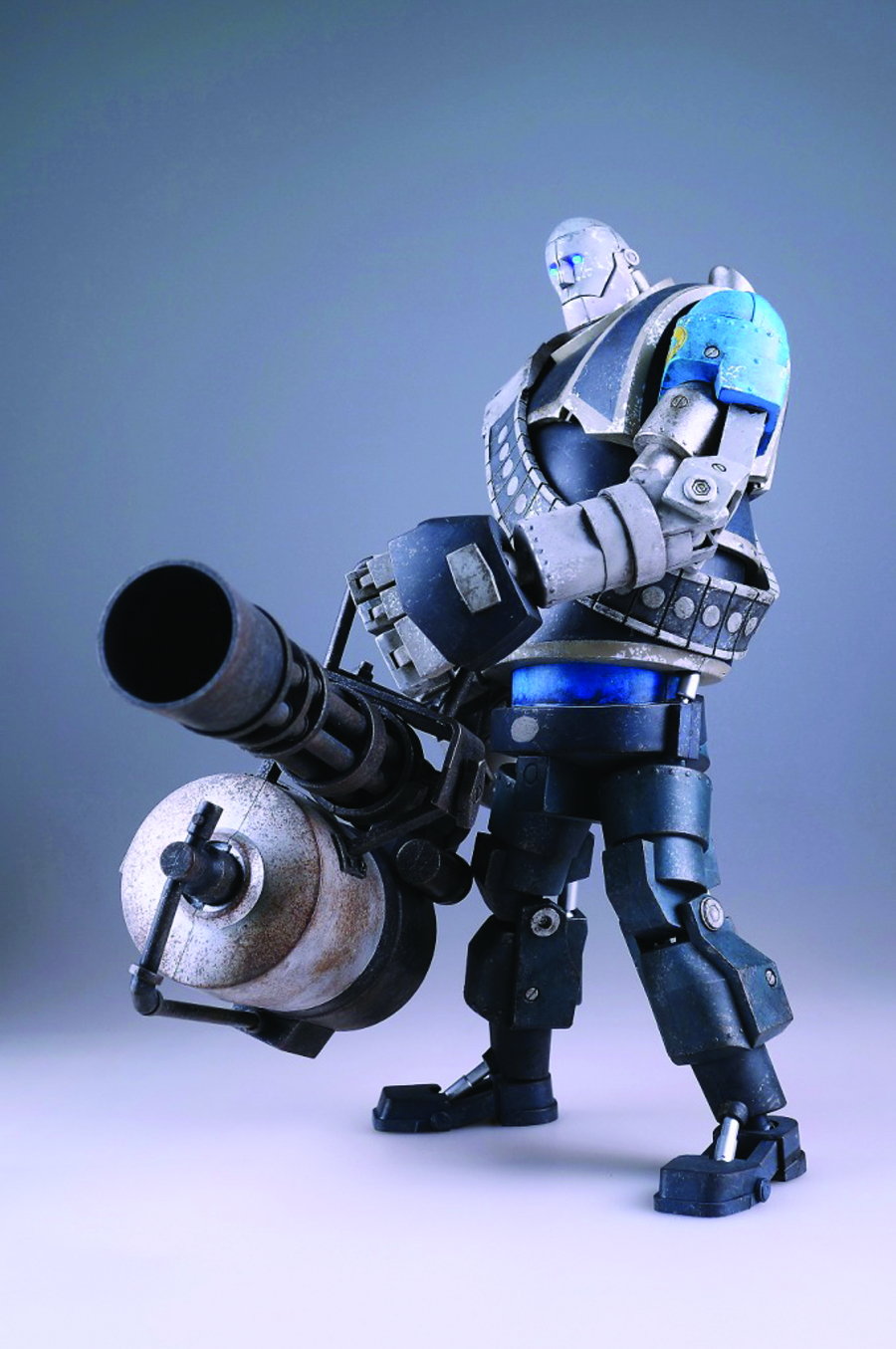 TEAM FORTRESS 2 ROBOT HEAVY FIG BLUE VER