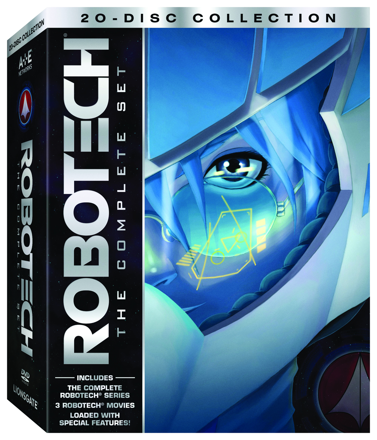 ROBOTECH THE COMP SET DVD