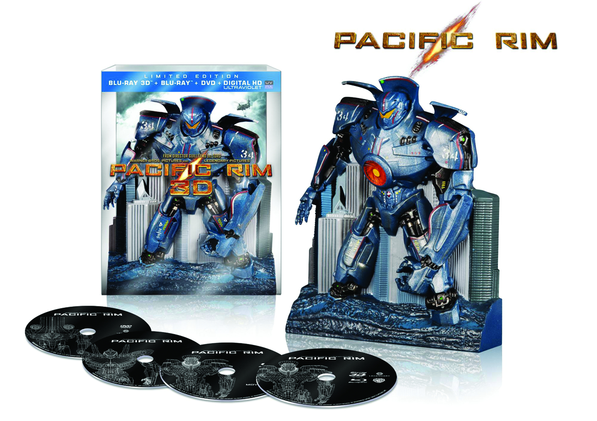 PACIFIC RIM 3D BD + BD + DVD GIFT SET