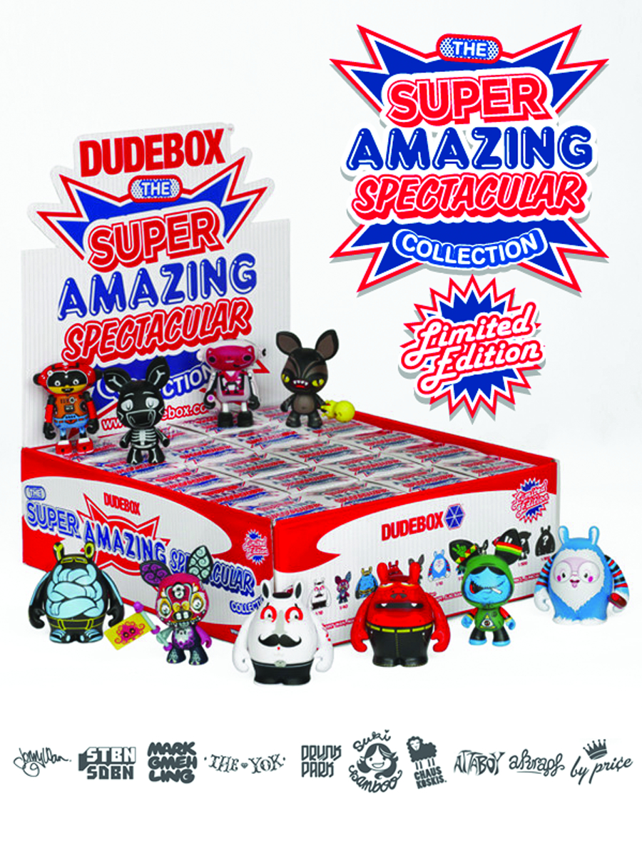 DUDEBOX SUPER AMAZING MINI FIG 20PC BMB DS