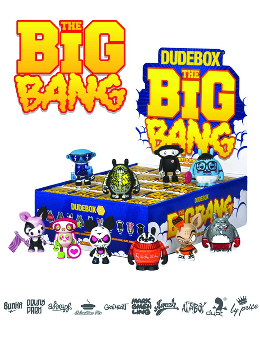 DUDEBOX BIG BANG MINI FIG 20PC BMB DS