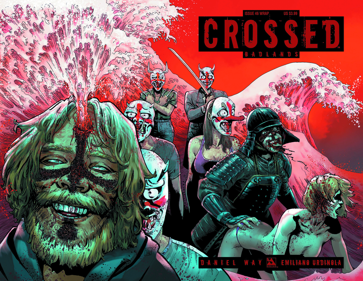 CROSSED BADLANDS #46 WRAP CVR