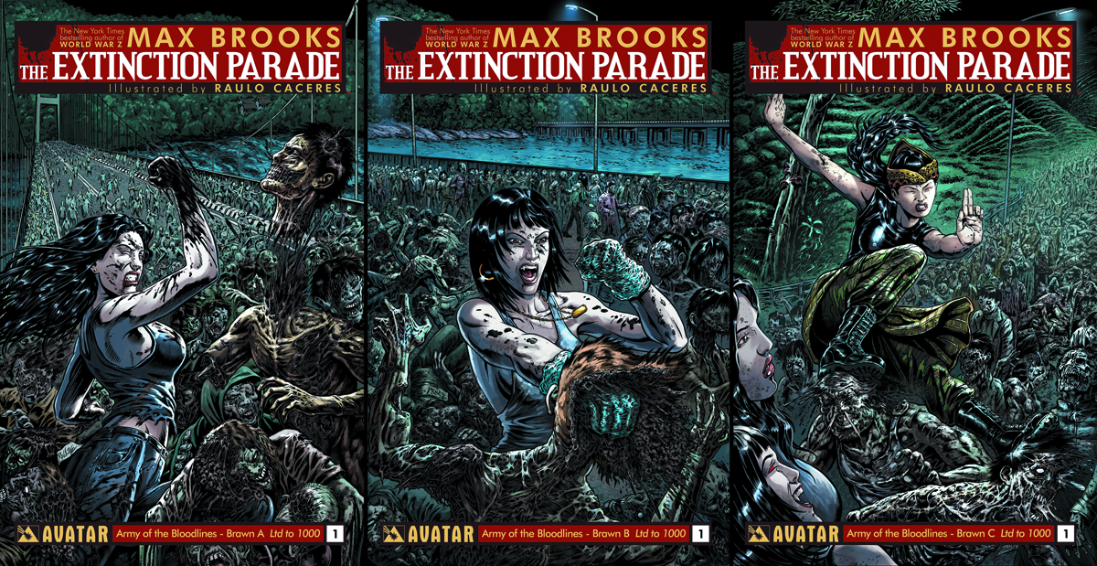 EXTINCTION PARADE #1 ARMY OF BRAWN 3 BOOK SET