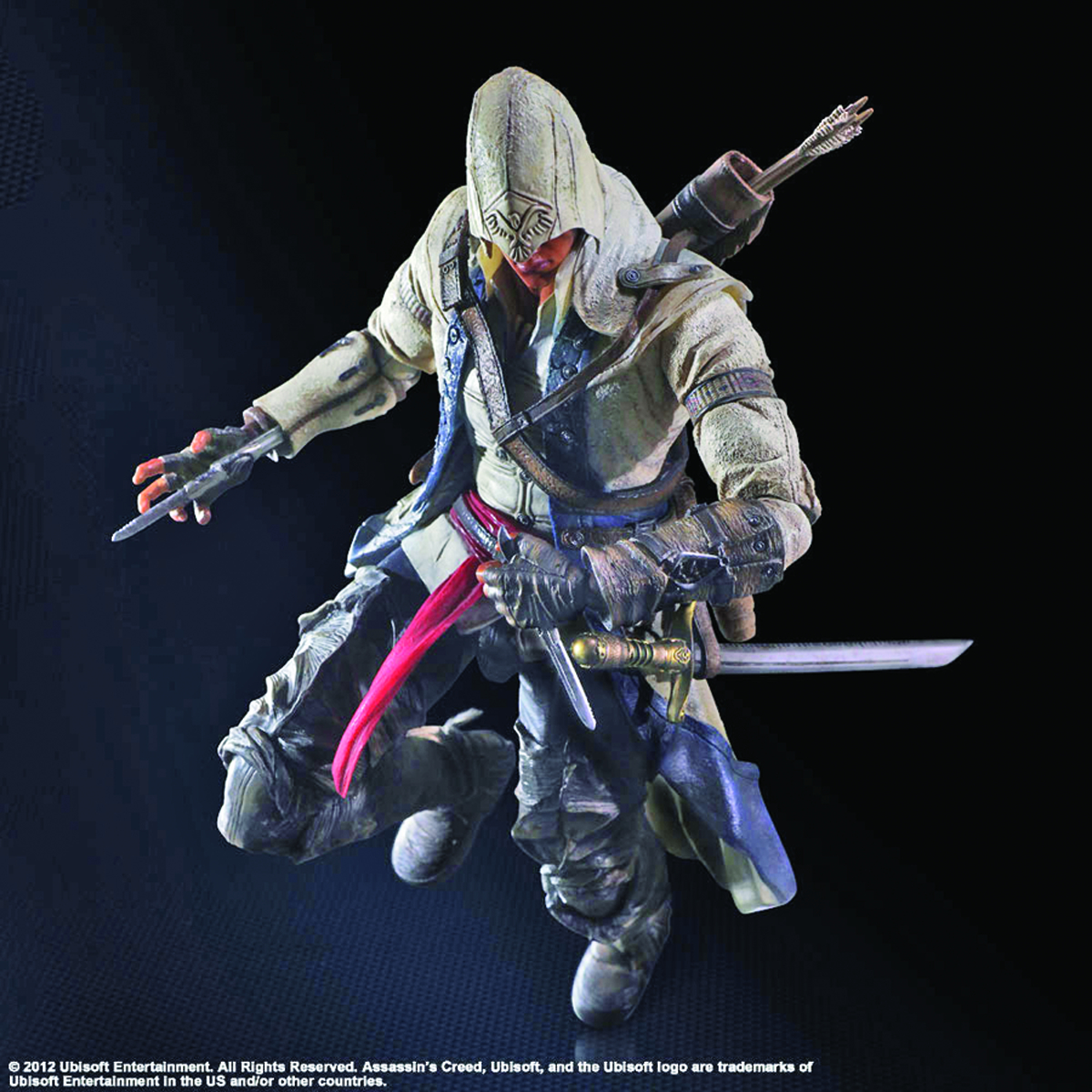 ASSASSINS CREED III PLAY ARTS KAI CONNOR AF