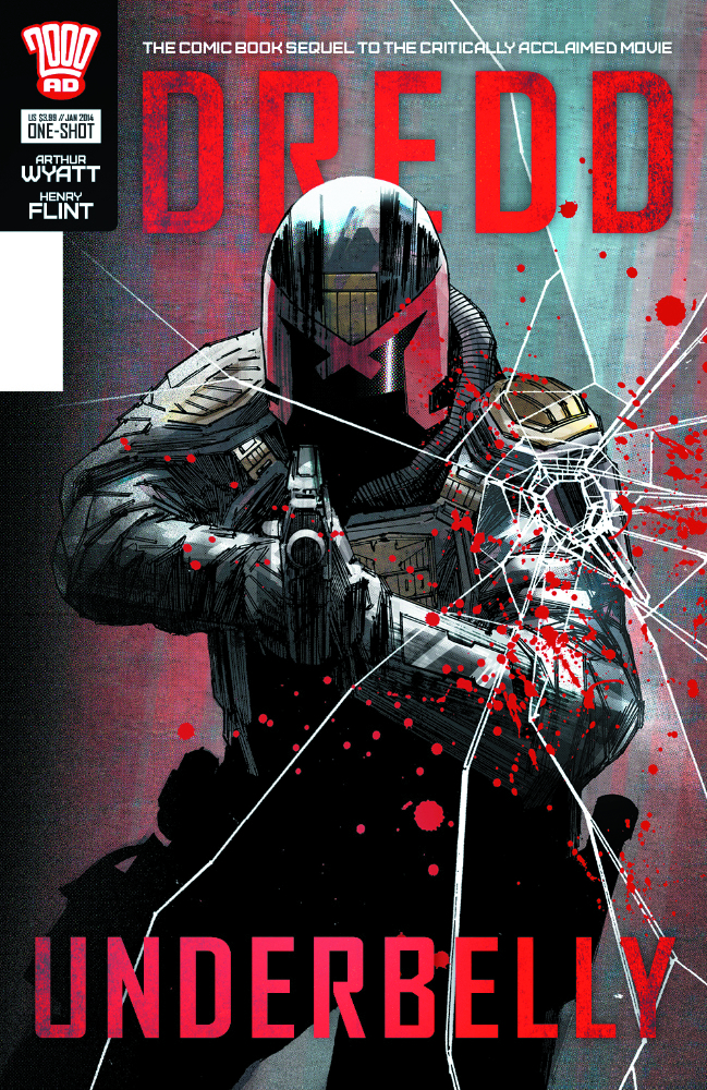 (USE DEC138479) DREDD UNDERBELLY MOVIE SEQUEL ONE SHOT