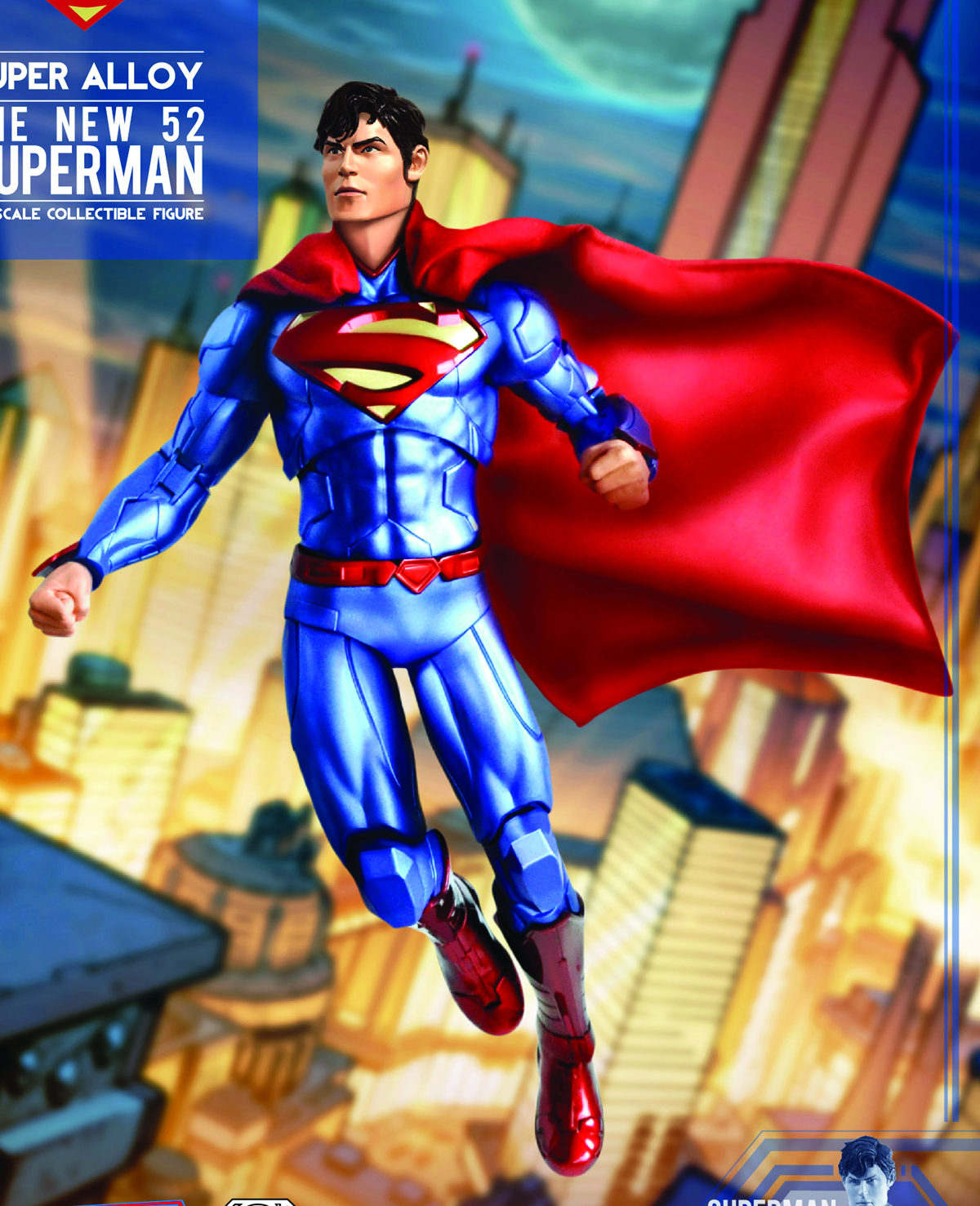 NEW 52 SUPERMAN SUPER ALLOY 1/6 SCALE FIG
