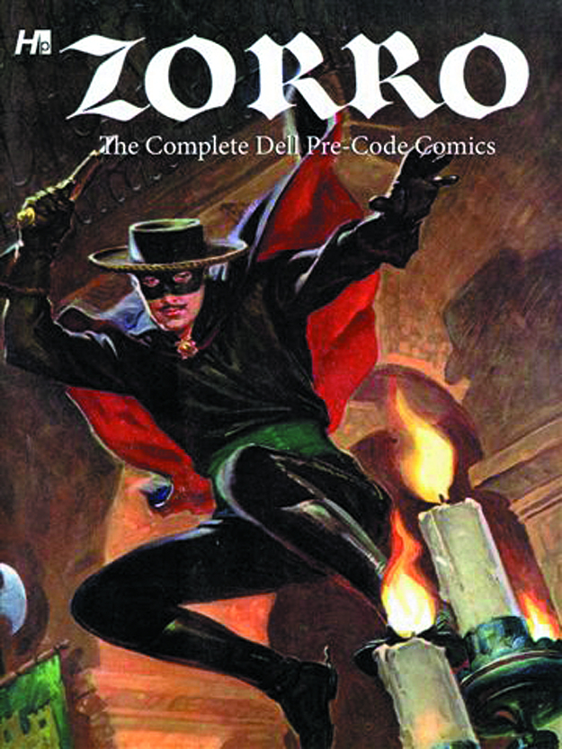 ZORRO COMP DELL PRE CODE COMICS HC (RES)