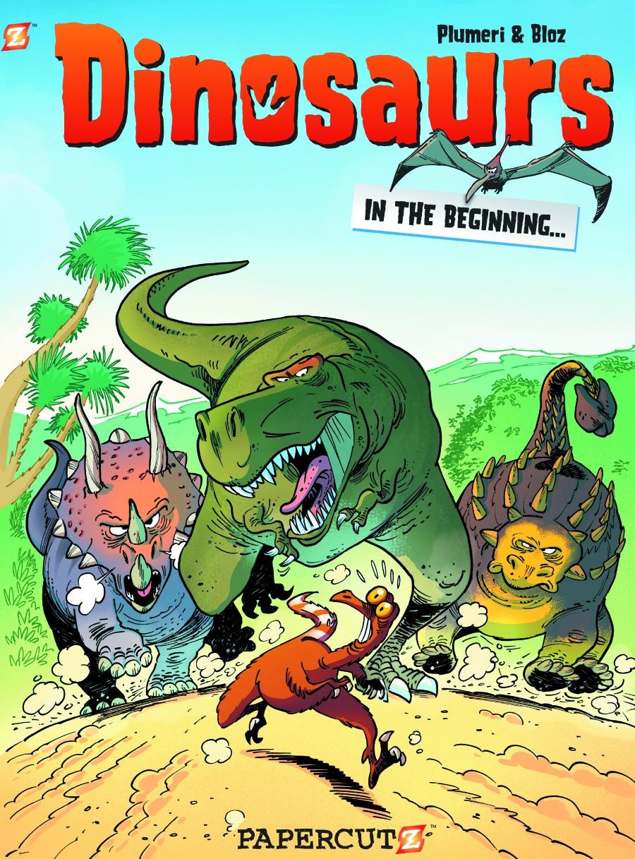 DINOSAURS HC VOL 01 BEGINNING