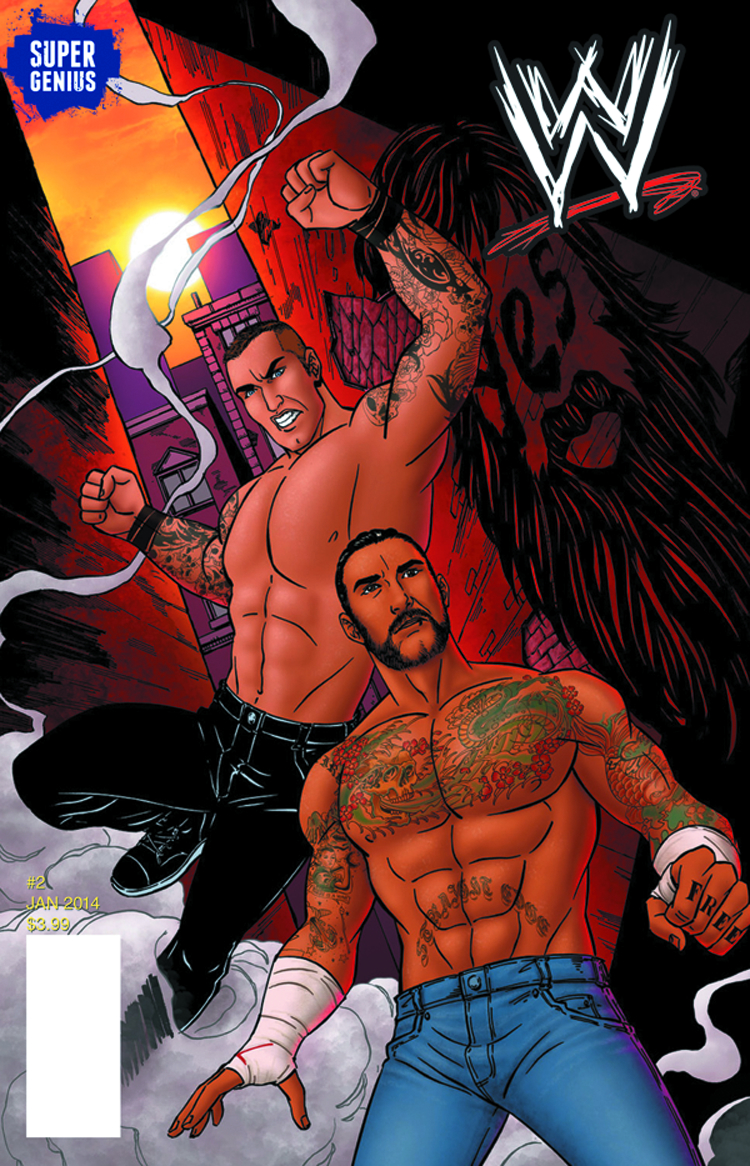 (USE JAN148062) WWE SUPERSTARS ONGOING #2