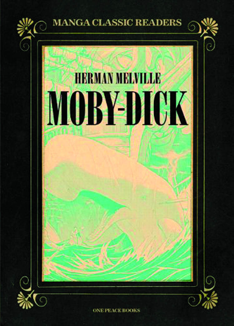 MANGA CLASSIC READERS GN VOL 01 MOBY DICK