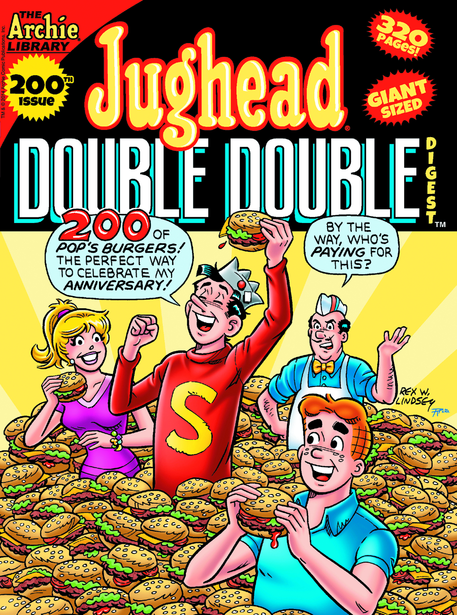 JUGHEADS DOUBLE DOUBLE DIGEST #200