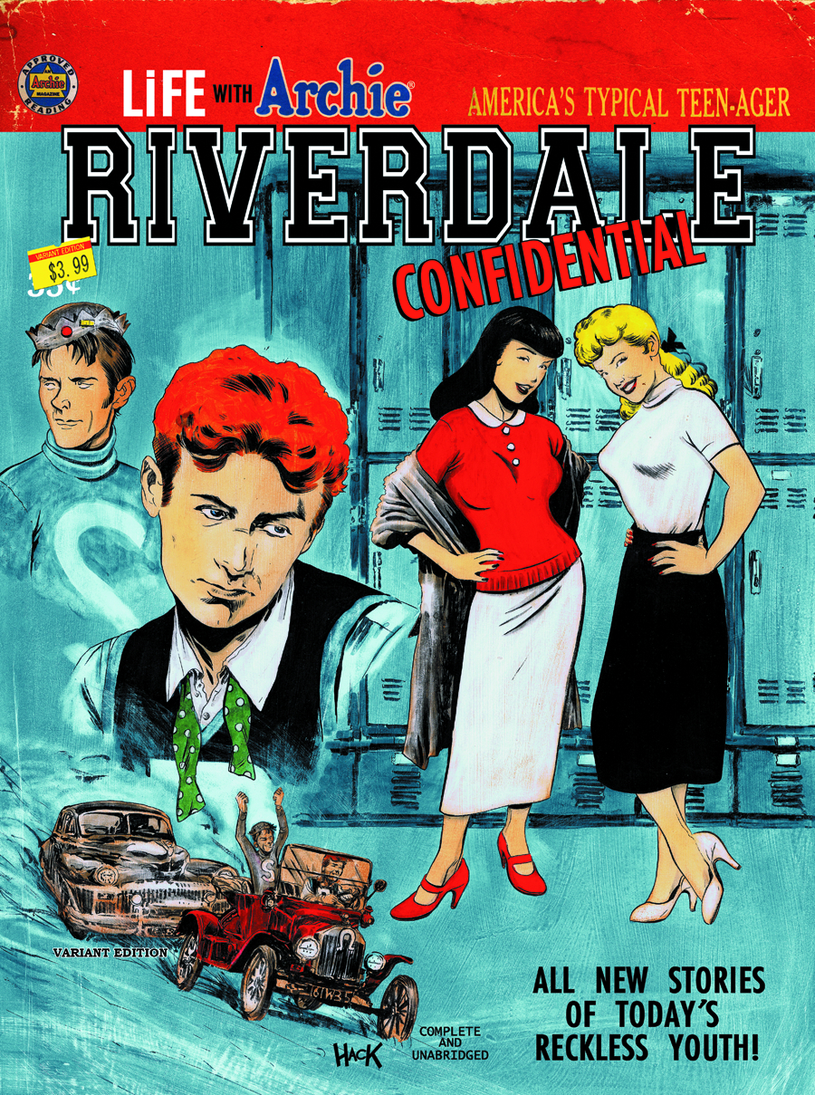 LIFE WITH ARCHIE #34 RIVERDALE CONFIDENTIAL VAR CVR