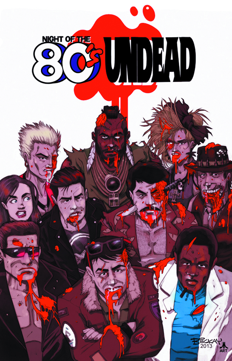 NIGHT OF THE 80S UNDEAD TP