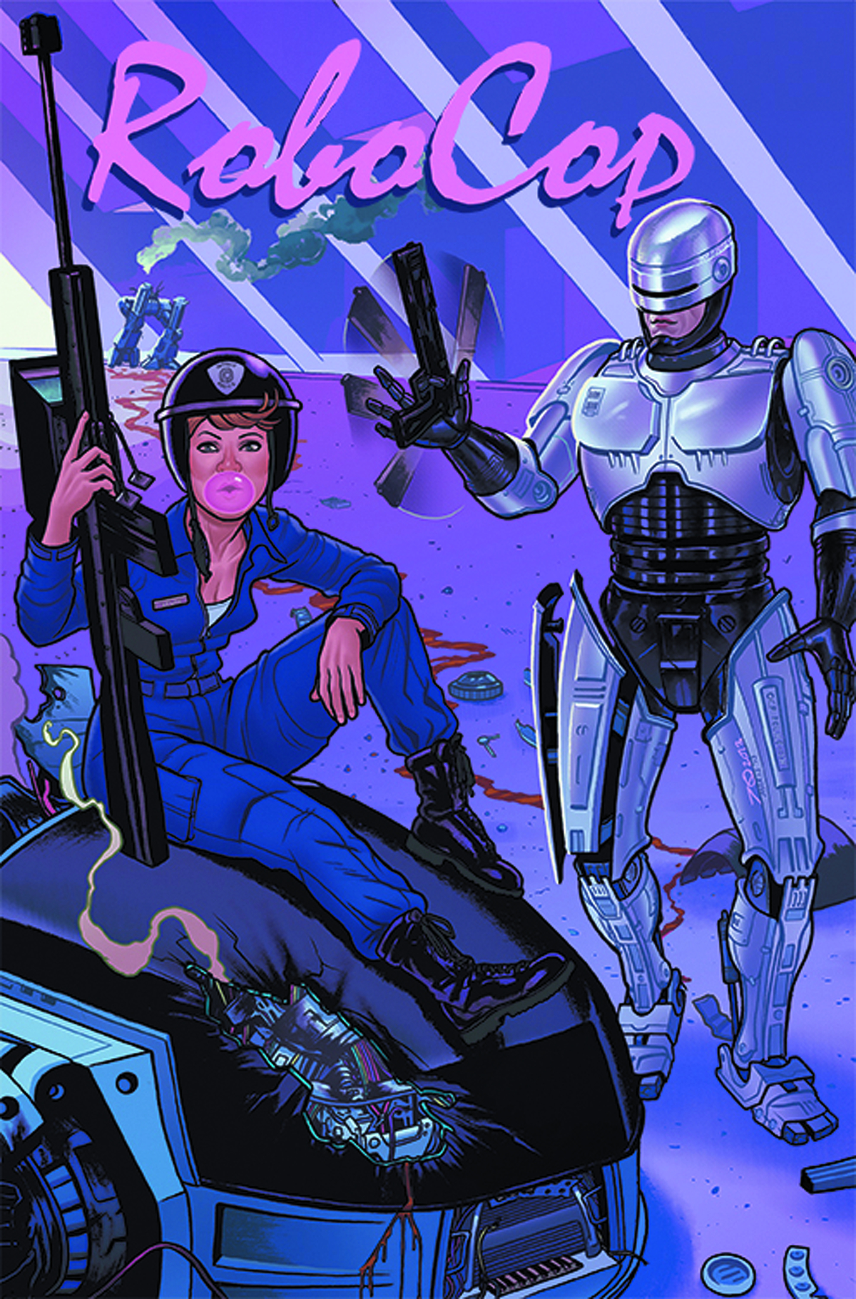 ROBOCOP LAST STAND #1 (OF 8) NYCC EXC