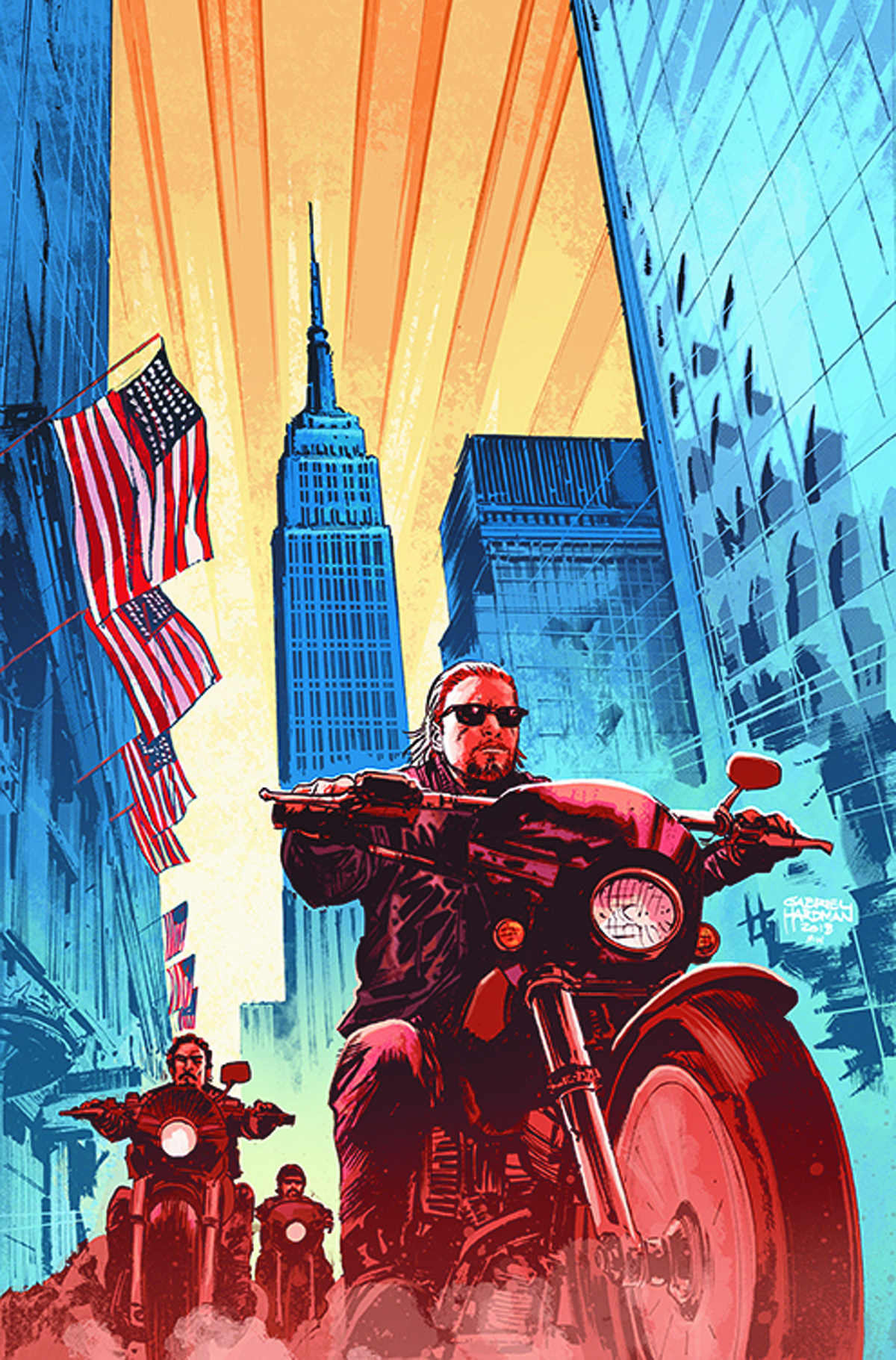 SONS OF ANARCHY #1 NYCC EXC